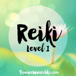 Reiki Level 1 Certification Edmonton