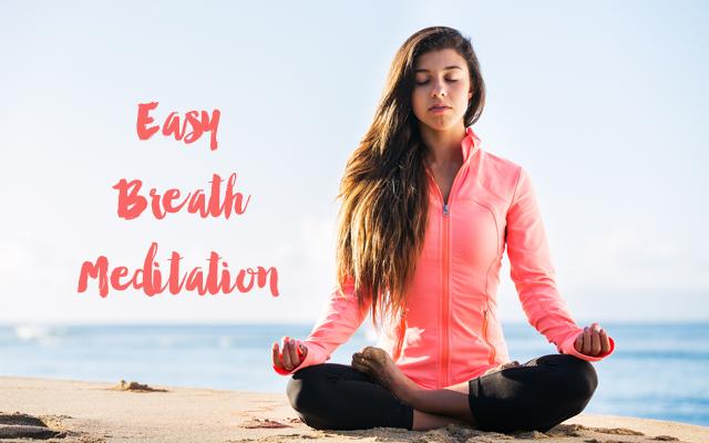 Easy Breath Meditation by Timmie Wanechko