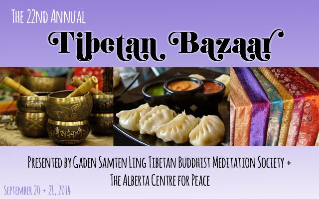Tibetan Bazaar 2014 - Edmonton, AB