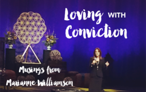 Marianne Williamson at Bloom 2015 Edmonton, AB