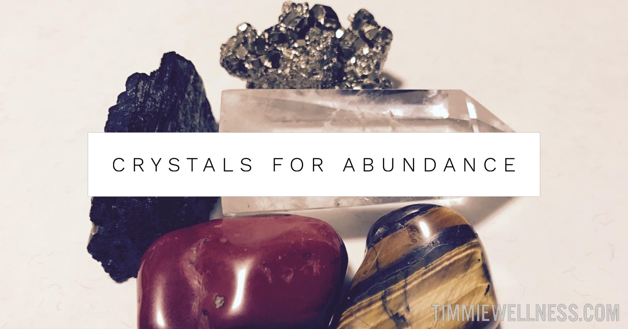 Crystals for Abundance by Timmie Horvath Policarpio Wanechko Aromatherapist Edmonton Reiki Training Crystal Healing Certification