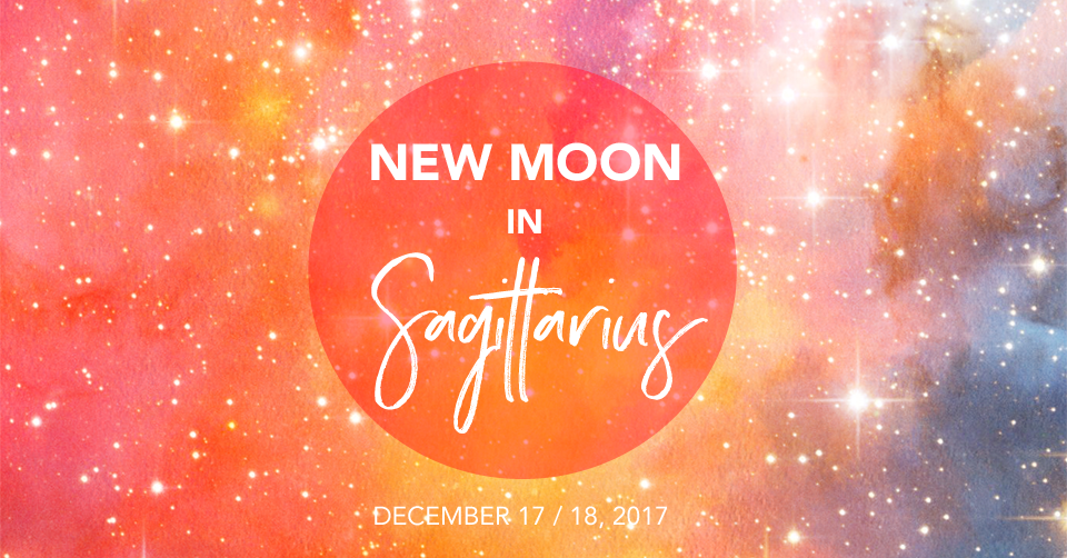 New Moon in Sagittarius December 2017 - Edmonton Reiki Training Timmie Horvath Policarpio Wanechko St. Albert Reiki Crystal Healing Certification Aromatherapist